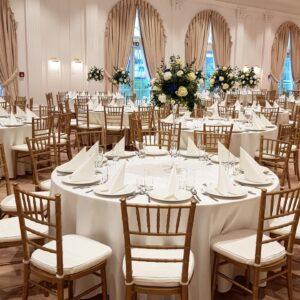Krzesła ślubne Chiavari
